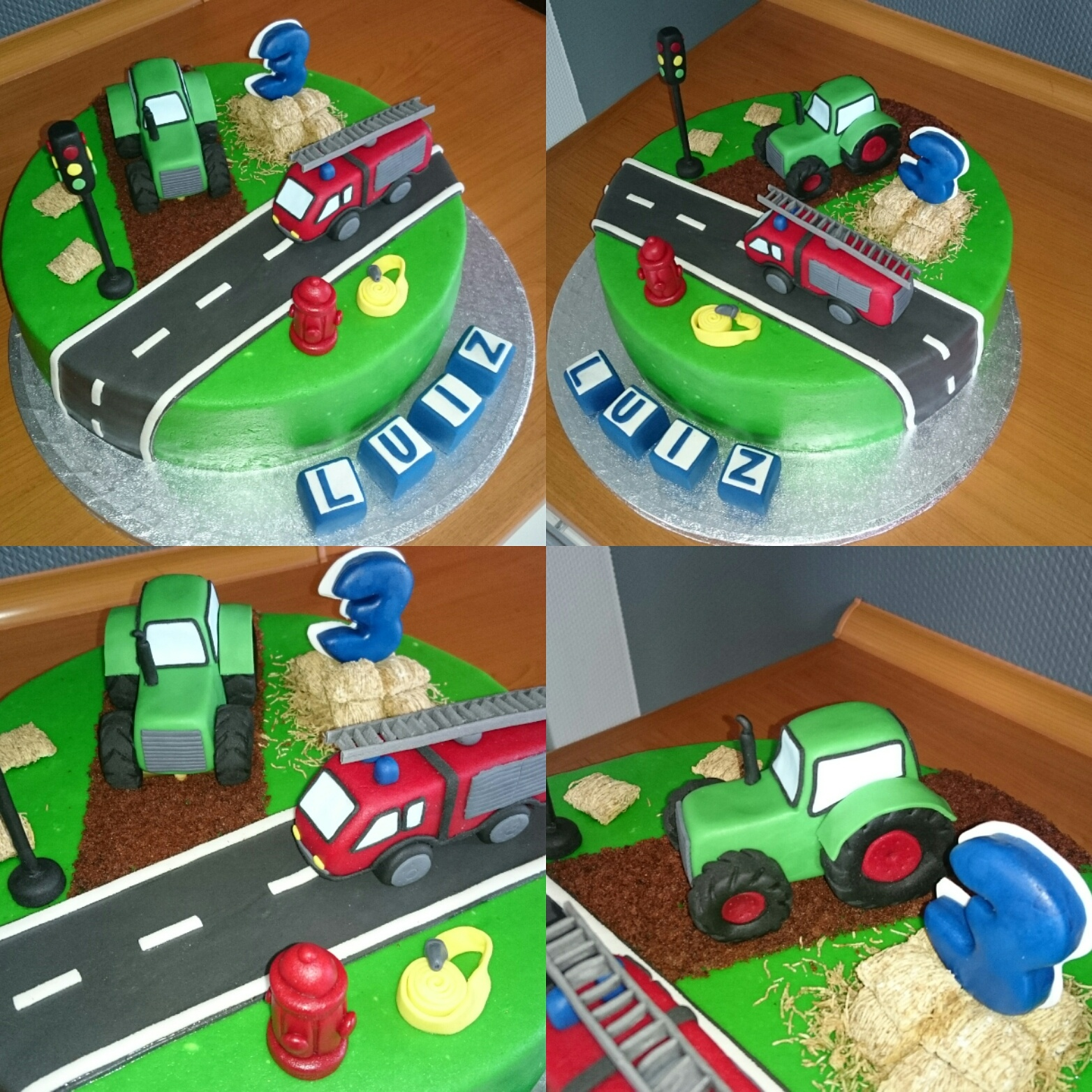 Feuerwehr Oder Traktortorte Steffys Tortentraum